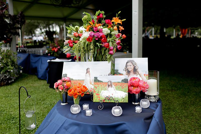 Keri & Brian bride table