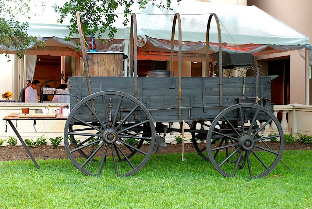 wheeled carriage