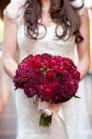 wedding planner rose bouquet