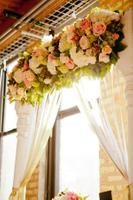 wedding planner roses for altar