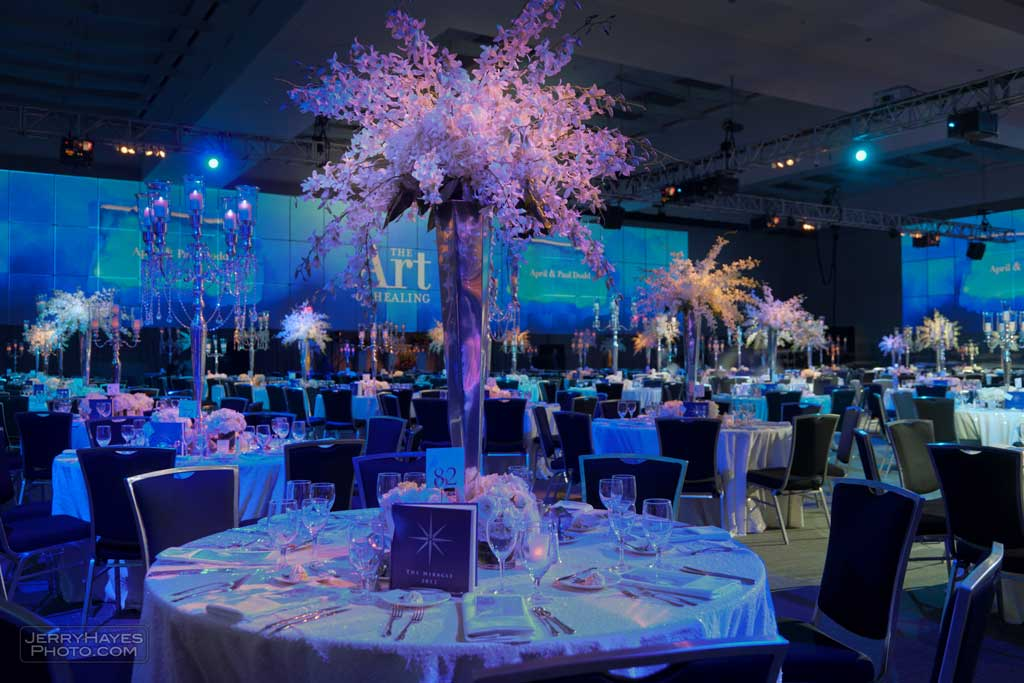 flowers and tables for Dell