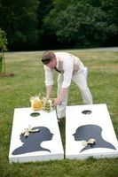 event planning - corn hole