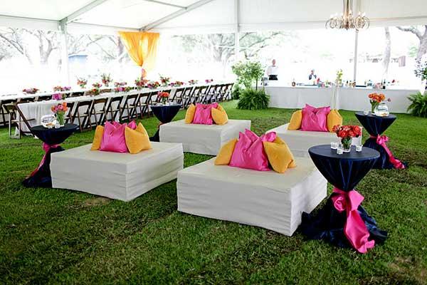 camp longhorn wedding