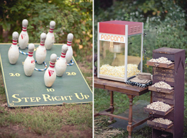 event planning - bowling and popcorn