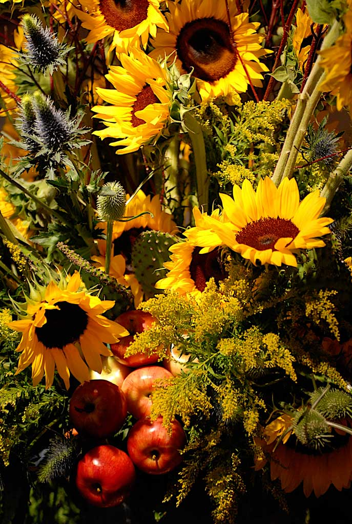 sunflowers for table arrangement