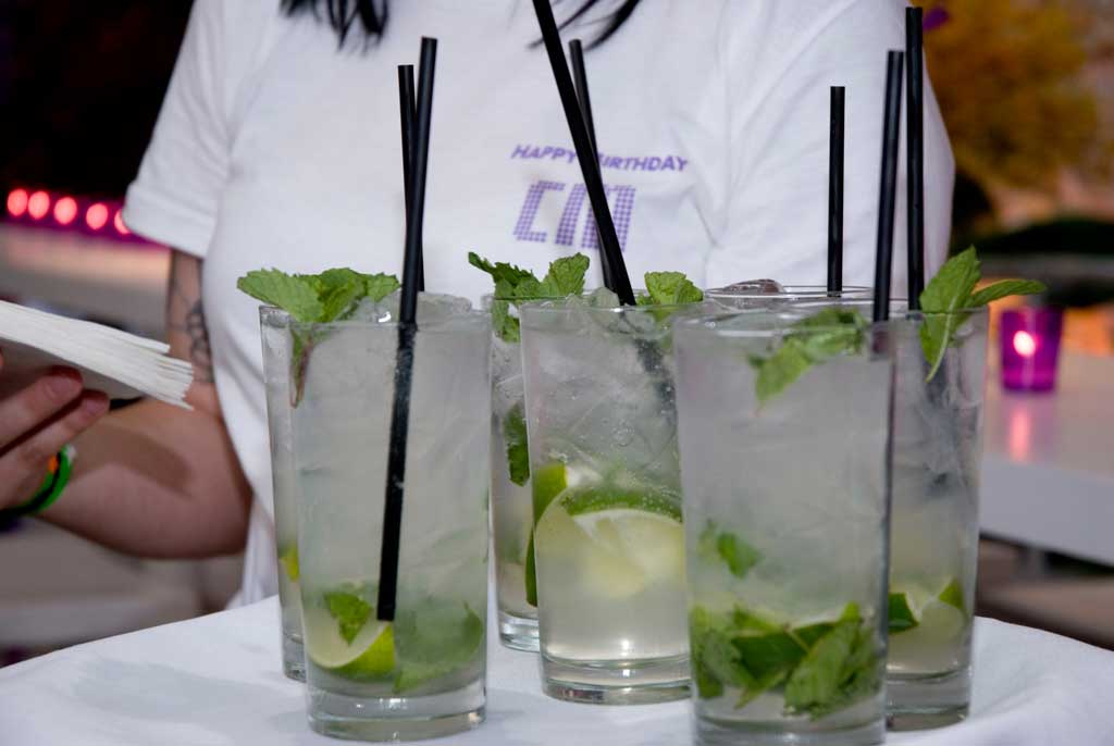 mojitos for prince party