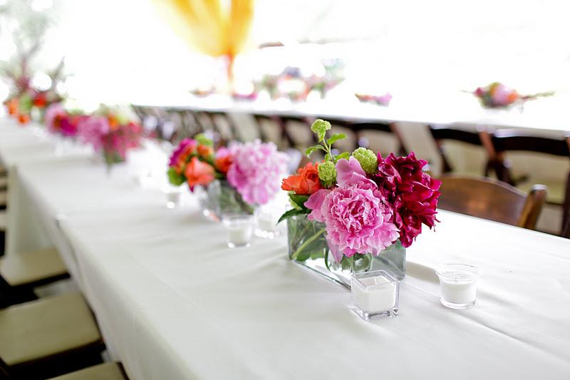 Keri & Brian table arrangements