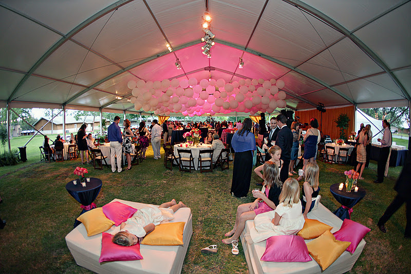 Keri & Brian tent wedding