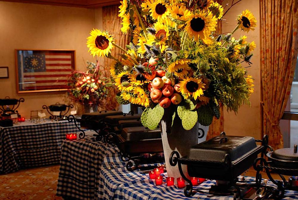 floral arrangements for four seasons event
