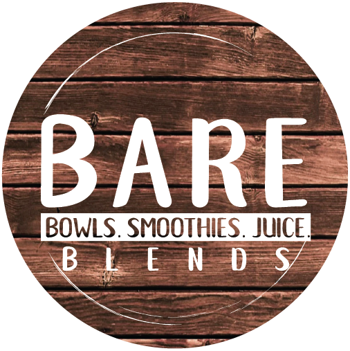 Bare Blends Logo Wood Round.png