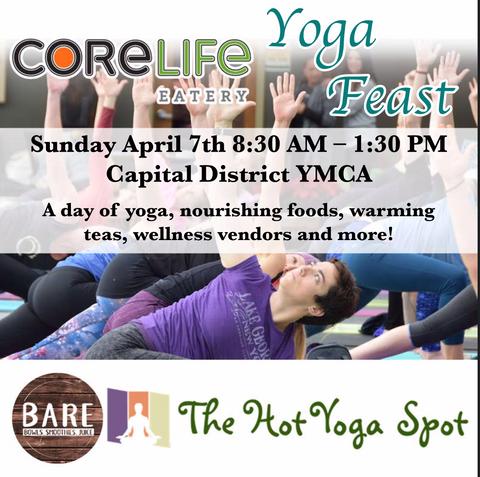 CoreLife Eatery Yoga Feast Event