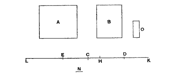 Archimedes Prop 6 Equilibrium of Planes I.png
