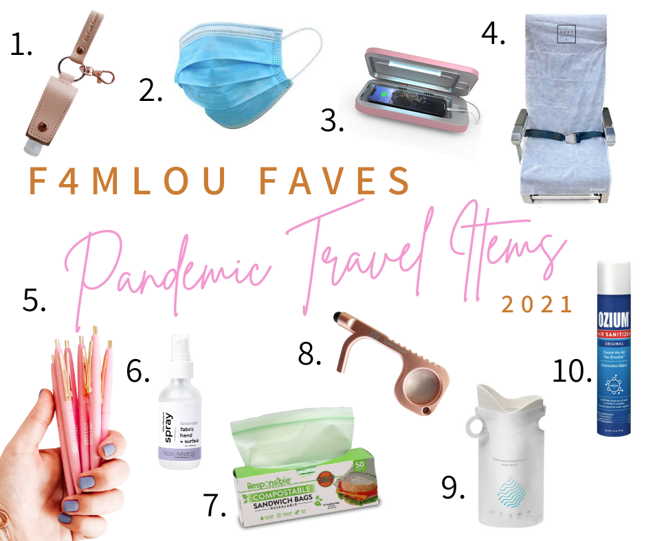 F4mlou Faves_ Fave pandemic travel items.png