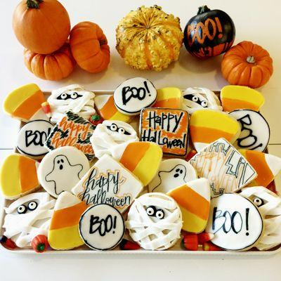 Custom Design Sugar Cookies - Halloween