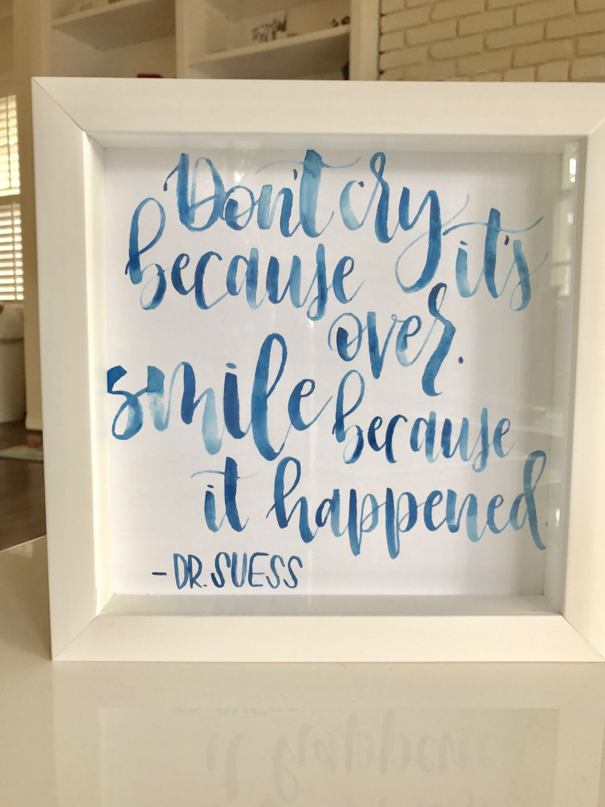Dr. Suess - Brush Lettering