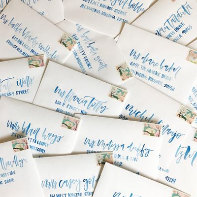 Blue watercolor envelope calligraphy.jpg