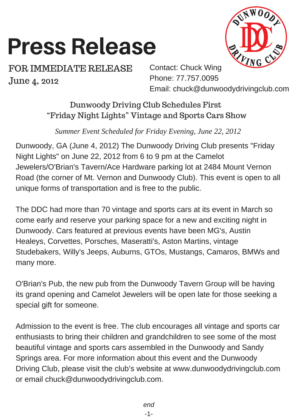 """""""Friday Night Lights"""" Vintage and Sports Cars Show.png"""