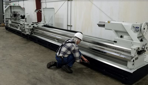 Willis installs MAMMOTH PK35320-9 Heavy Duty Lathe in Pacific Northwest