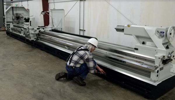 Willis installs MAMMOTH PK35320-9 Heavy Duty Lathe in Pacific Northwest