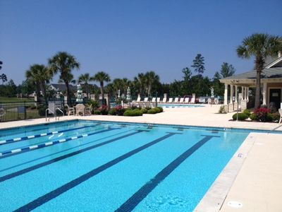 Bays Lap Pool  Blue Sky.JPG