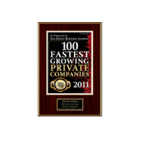 100 Fastest Growing Private Companies 2011