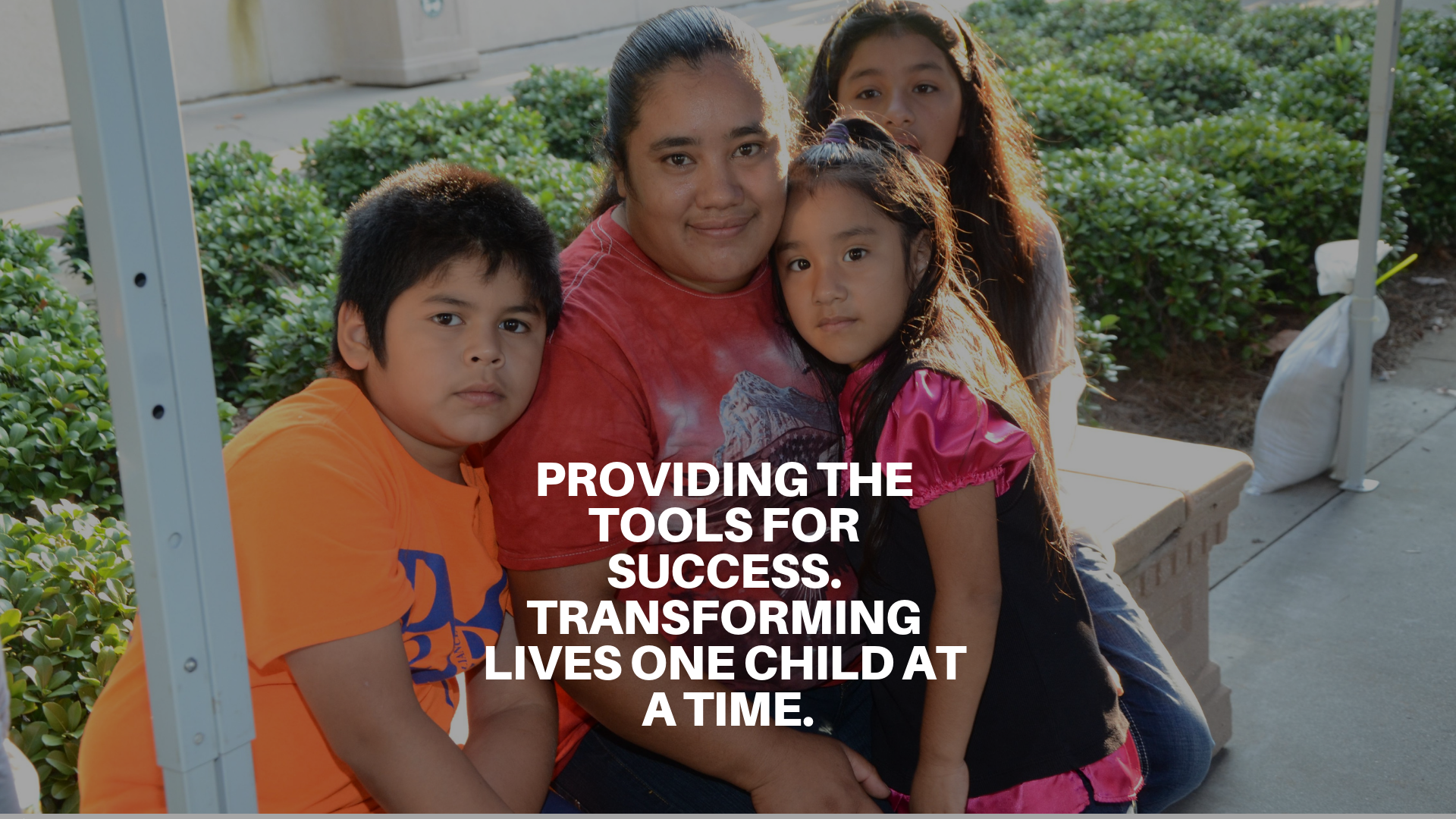 Providing tools/Transforming Lives - Header