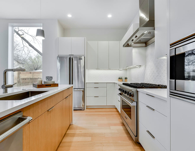 Modern white kitchen 6A