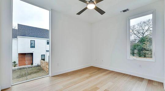 Floor to ceiling bedroom window