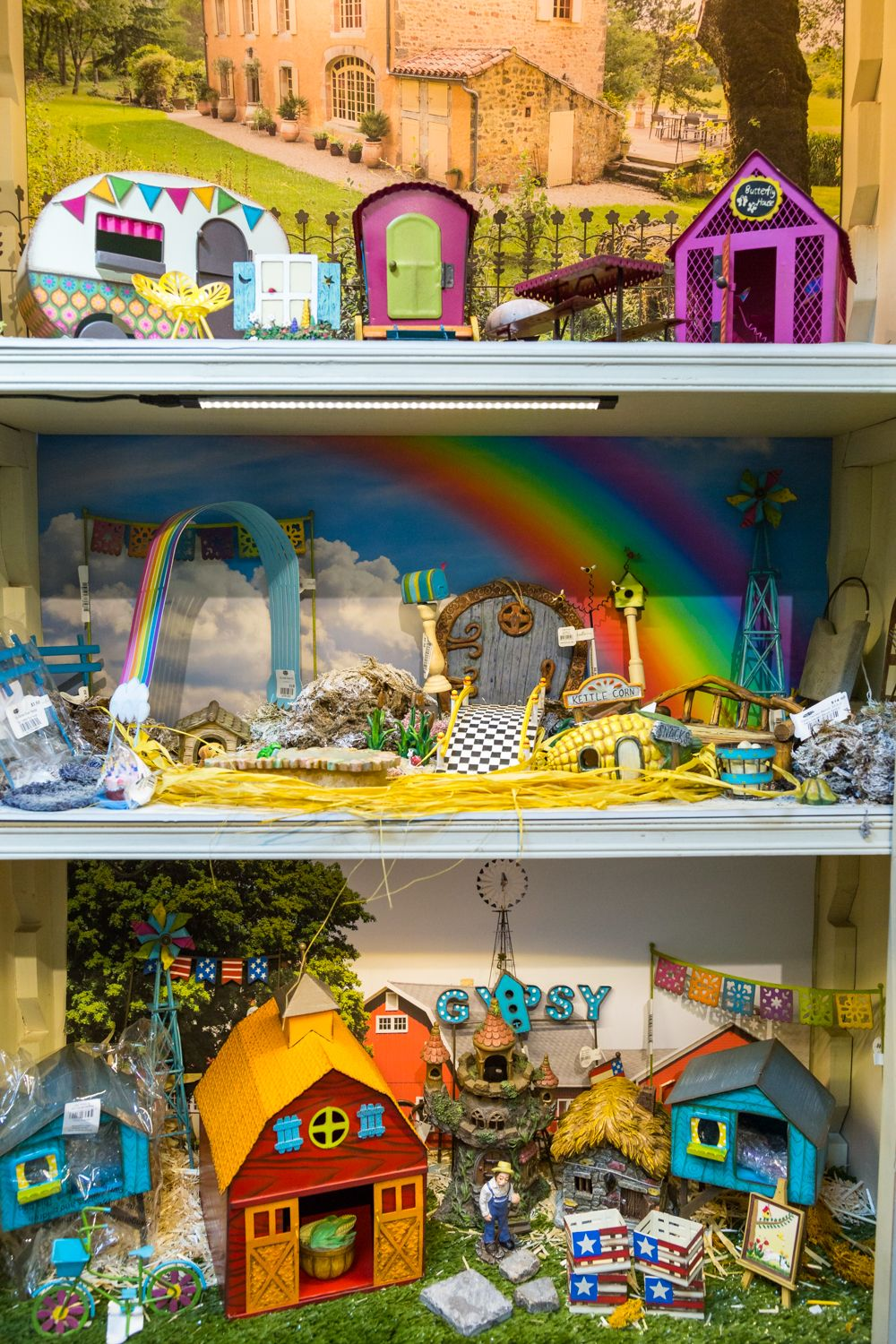 The Great Outdoors Fairy Shelf