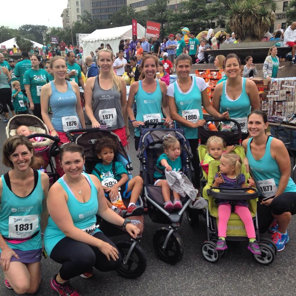 Run Club at Race for Every Child