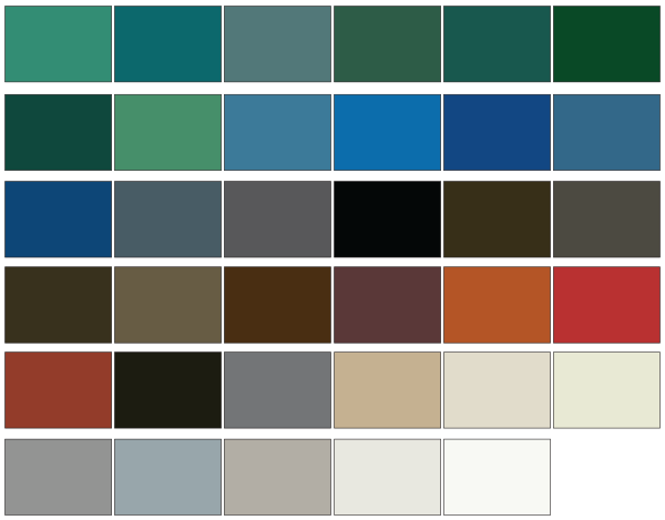 Thermaround Metal Clad Color Options