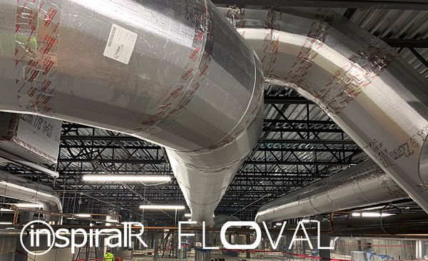InspiralR and Floval Lightweight Ductwork