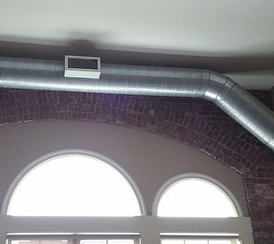 Lined Duct for Indoor Application