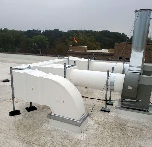 Thermaround Round Outdoor Ductwork