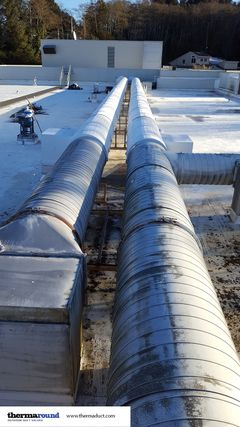 corrosion resistant outdoor ductwork