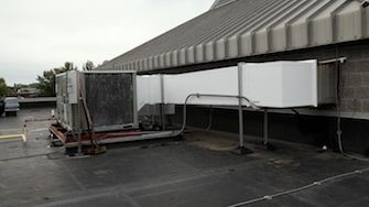 outdoor HVAC double wall preinsulated