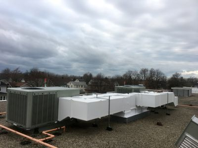 preinsulated double wall ductwork