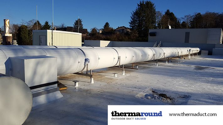 thermaround insulated spiral ductwork