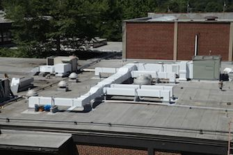 preinsulated rooftop ductwork exterior hvac