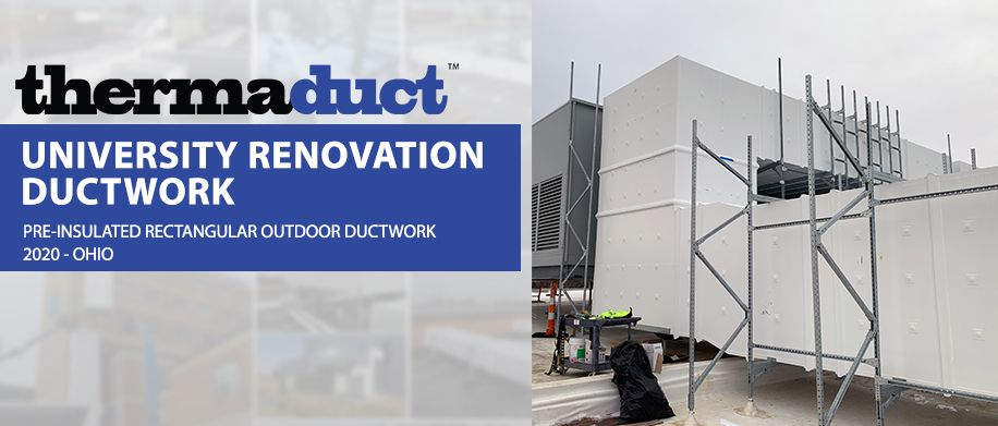 high efficiency rooftop ductwork