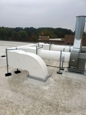 preinsulated outdoor ductwork