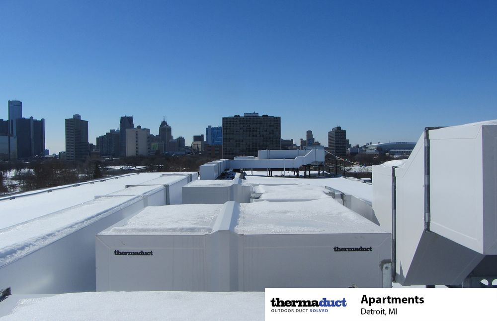 outdoor rooftop ductwork michigan