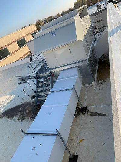 Rectangular Thermaduct Exterior Ductwork