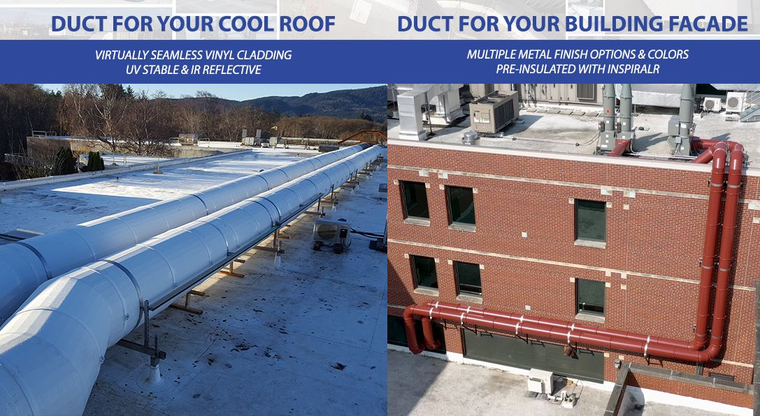 Pre-Insulated Spiral Duct Systems - Thermaround