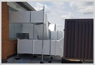 Thermaduct Outdoor Ductwork System