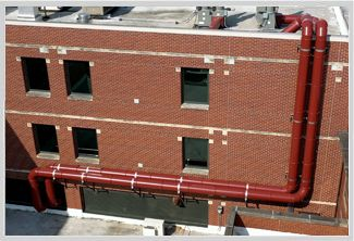 Architectural Ductwork Systems for Exterior or Interior applications Thermaround
