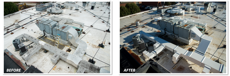 Thermaduct outdoor rooftop ductwork
