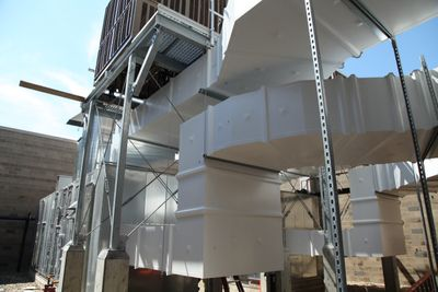 double wall ductwork outdoor preinsulated