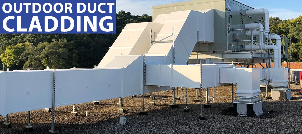Cladding Outdoor Ductwork