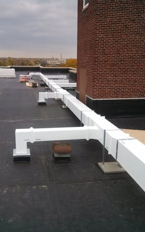 outdoor duct solved thermaduct apartments